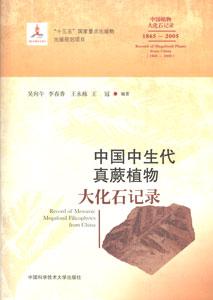 中国中生代真蕨植物大化石記録