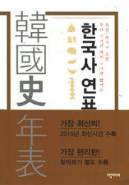 韓国史年表(含北朝鮮・世界史)附索引 全2冊(韓国本)