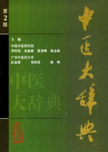 中医大辞典〔第2版〕