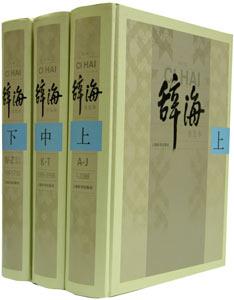 辞海[2009]第6版普及版  全3冊